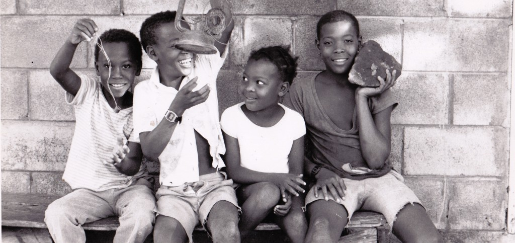 From Nevis too still of kids