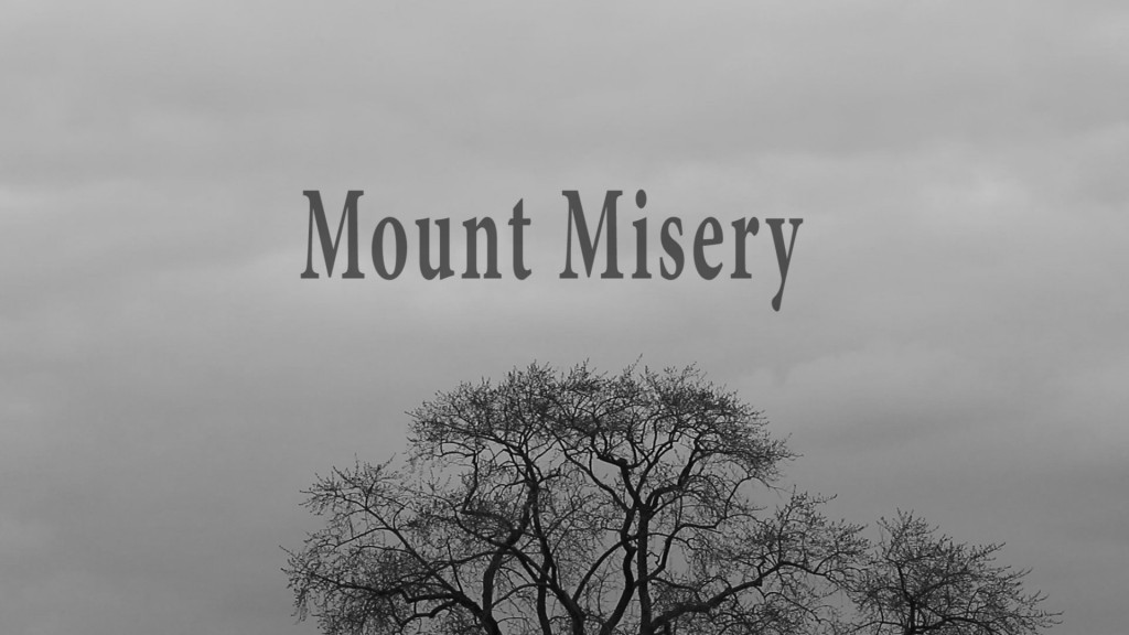 mount misery title still